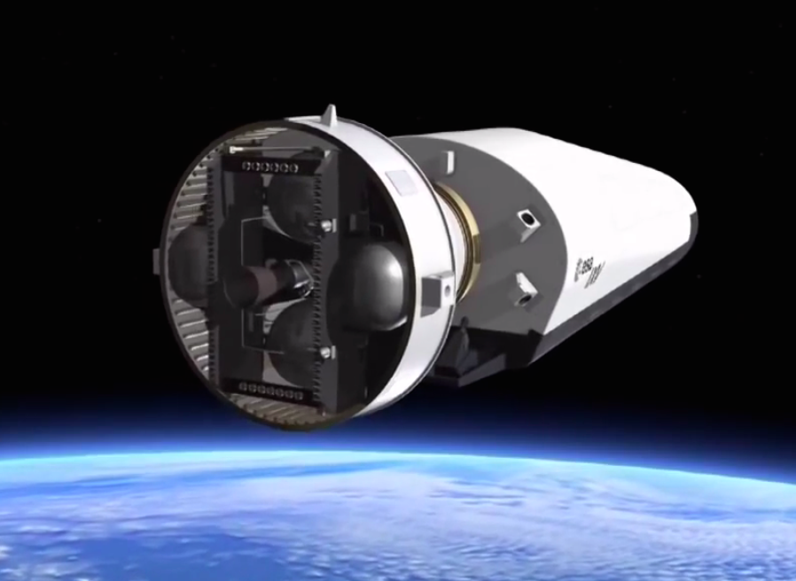 The Vega's AVUM fourth stage is turned off after a 5-minute, 49-second burn to place the IXV on the proper suborbital trajectory before separation. Two more AVUM maneuvers occur after IXV separation to de-orbit the stage.