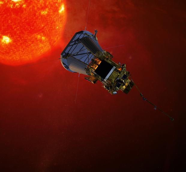 Artist's concept of the Solar Probe Plus spacecraft. Credit: NASA/JHUAPL