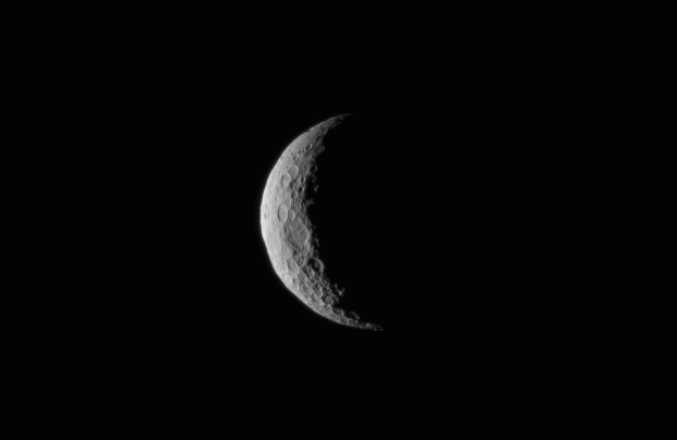 Ceres is seen from the Dawn spacecraft on March 1 at a distance of about 30,000 miles. Credit: NASA/JPL-Caltech/UCLA/MPS/DLR/IDA
