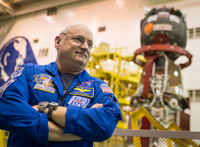 Scott Kelly is a veteran of three previous missions, including flights as pilot of space shuttle Discovery and commander of space shuttle Endeavour. He commanded the International Space Station's Expedition 26 crew in 2010 and 2011. Credit: NASA/Bill Ingalls