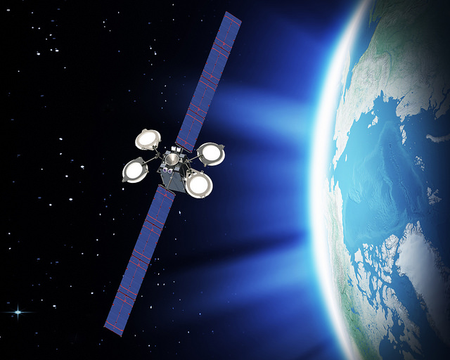 Artist's concept of the Eutelsat 115 West B satellite. Credit: Boeing