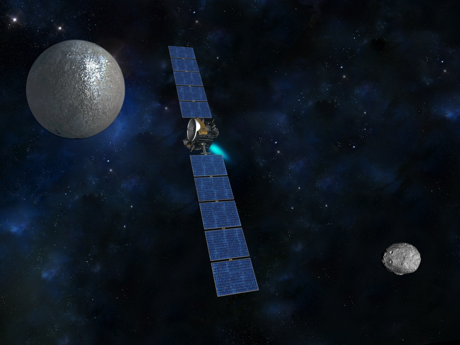 nasa dawn spacecraft diagram - photo #18
