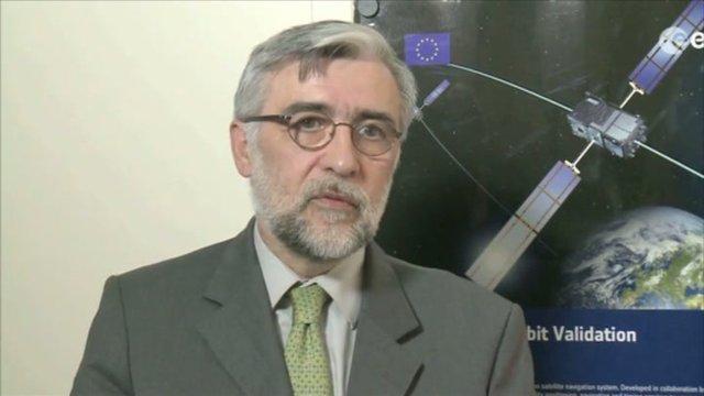 Didier Faivre, director of ESA's navigation programs. Credit: ESA