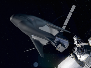 Sierra Nevada Corporation's Uncrewed Dream Chaser Docks to the ISS_Credited-2