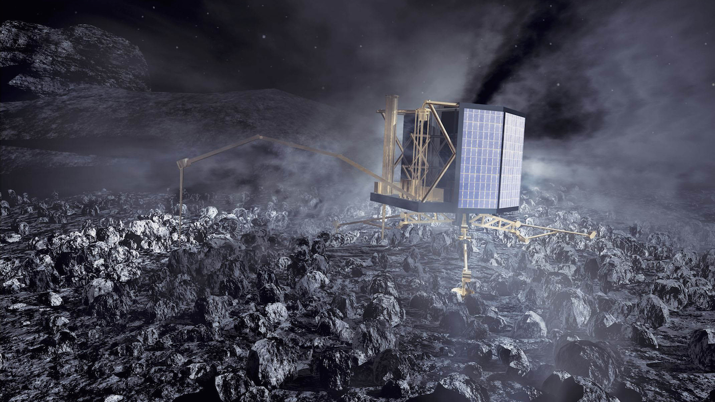 rosetta spacecraft landing - photo #12