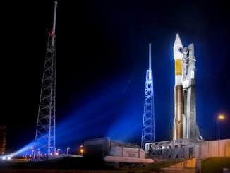 Atlas AV-011 before launch