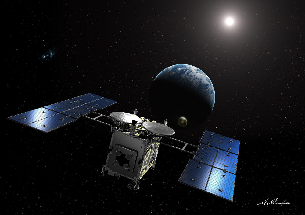 hayabusa space mission - photo #5