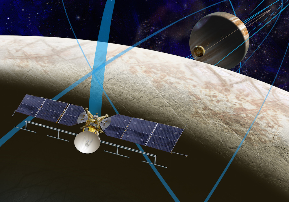 Artist's concept of the Europa Clipper spacecraft. Credit: NASA/JPL-Caltech/JHUAPL