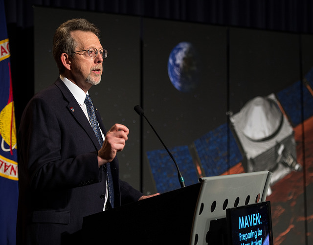 Jim Green, director of NASA's planetary science division. Credit: NASA/Bill Ingalls