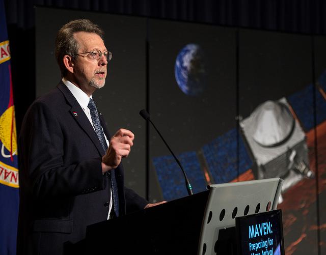 Jim Green, director of NASA's planetary science division. Credit: NASA/Bill Ingalls