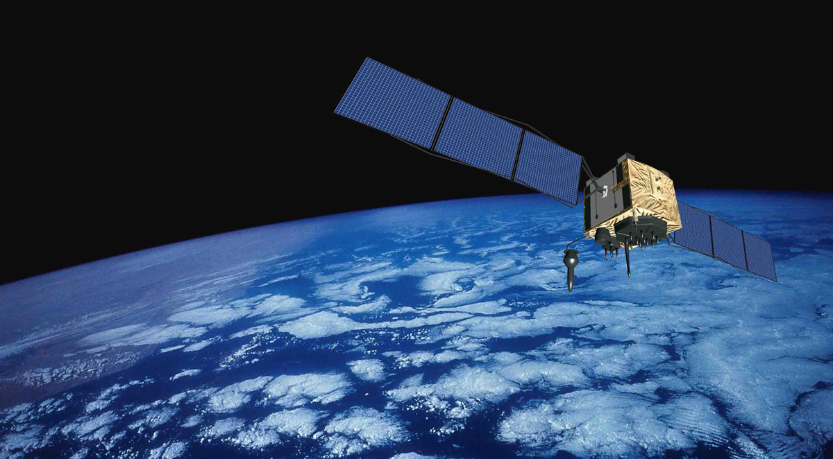 Newest GPS Satellite Goes Into Service Spaceflight Now - Newest satellite images