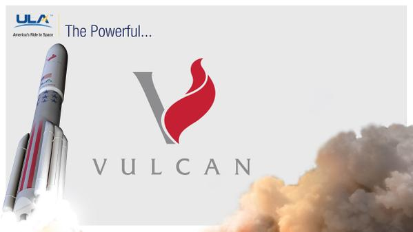 An artist's concept of the Vulcan. Credit: ULA