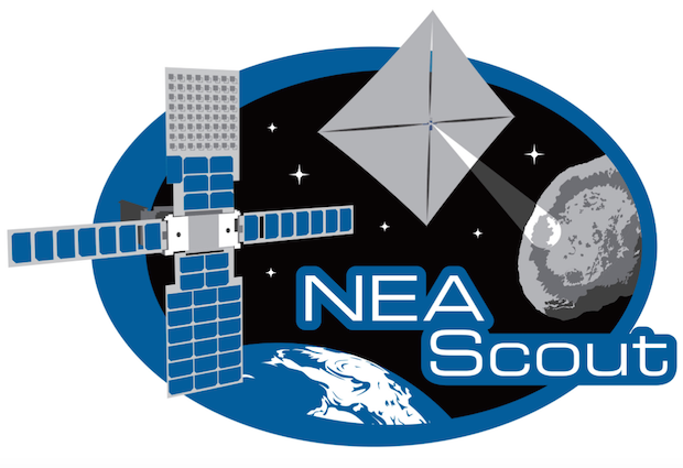 The NEA Scout mission patch. Credit: NASA