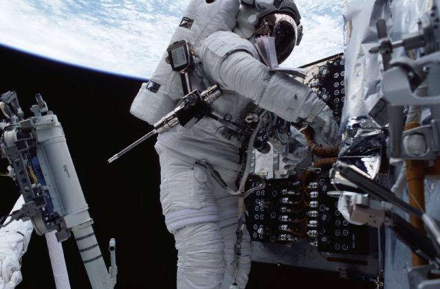 Astronaut John Grunsfeld