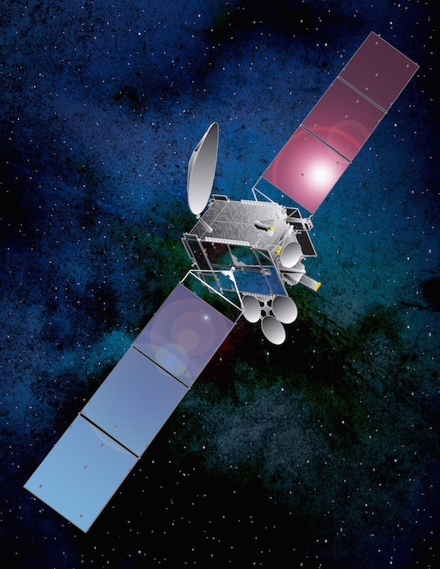 Artist's concept of the Thor 7 satellite. Credit: Space Systems/Loral