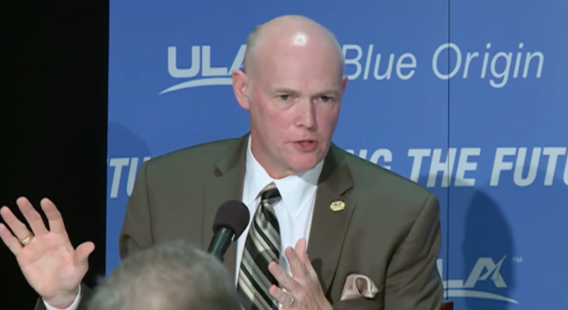 ULA president and CEO Tory Bruno. Credit: Blue Origin
