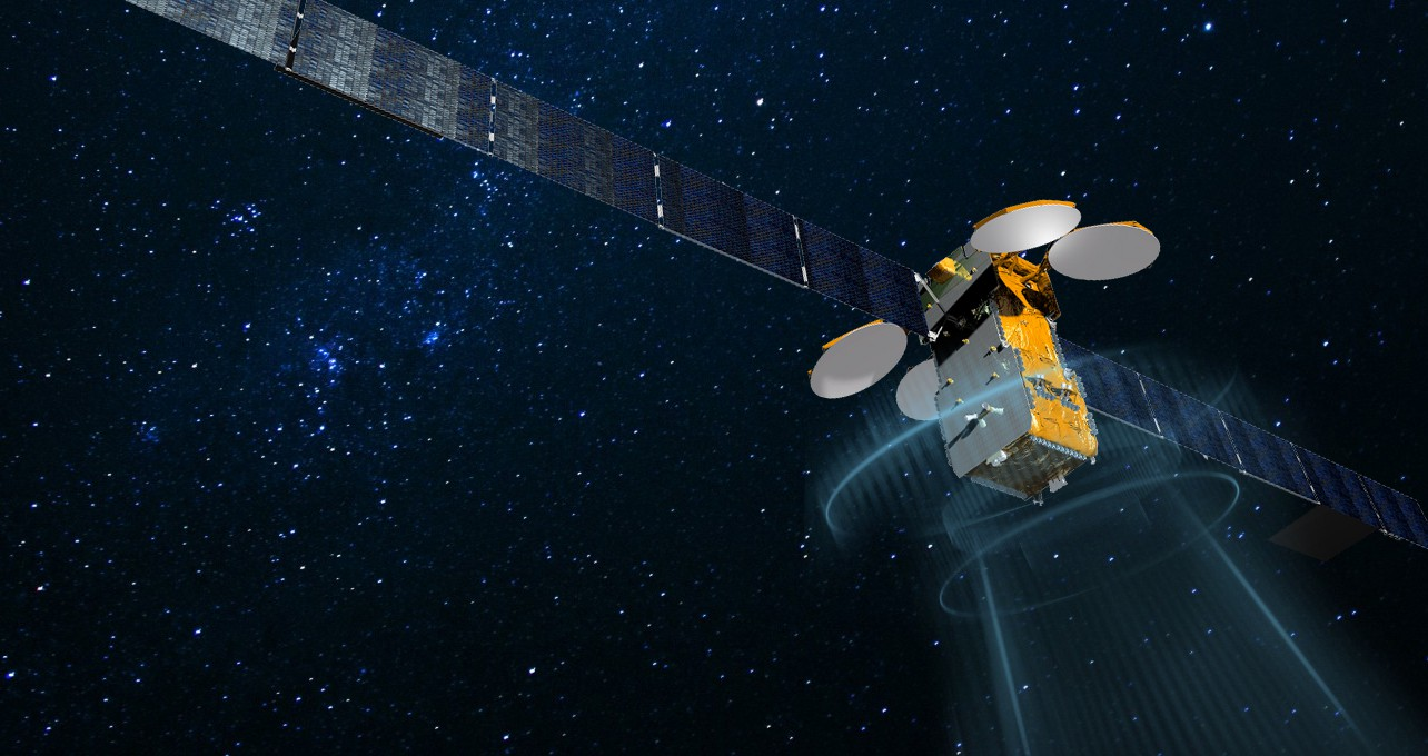 Artist's concept of the DirecTV 15 satellite. Credit: Airbus Defense and Space