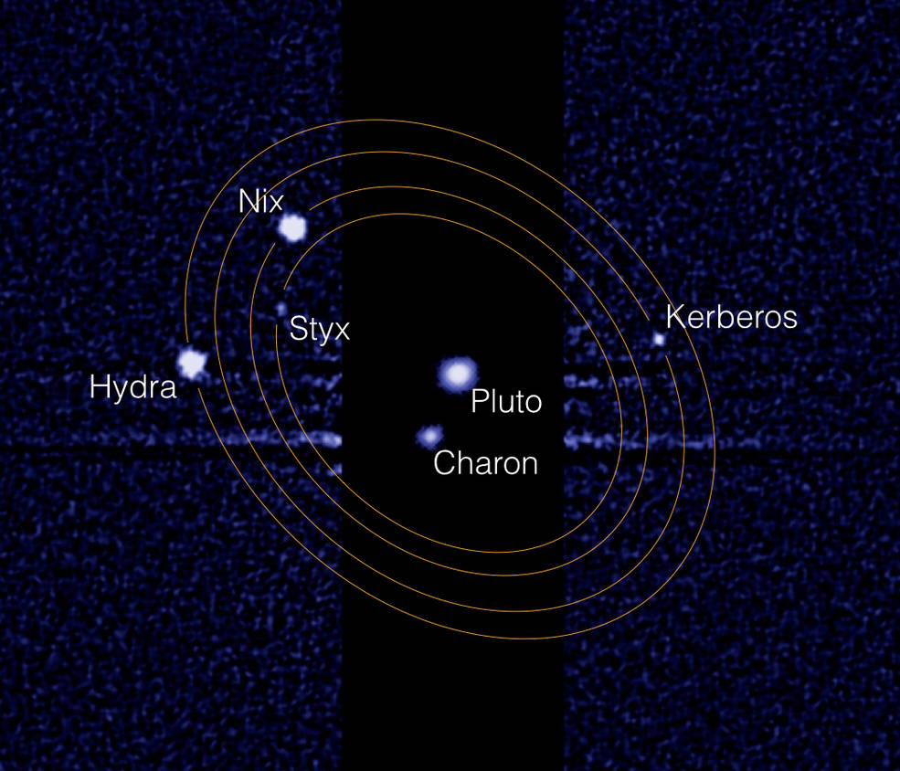 moons around pluto - photo #22