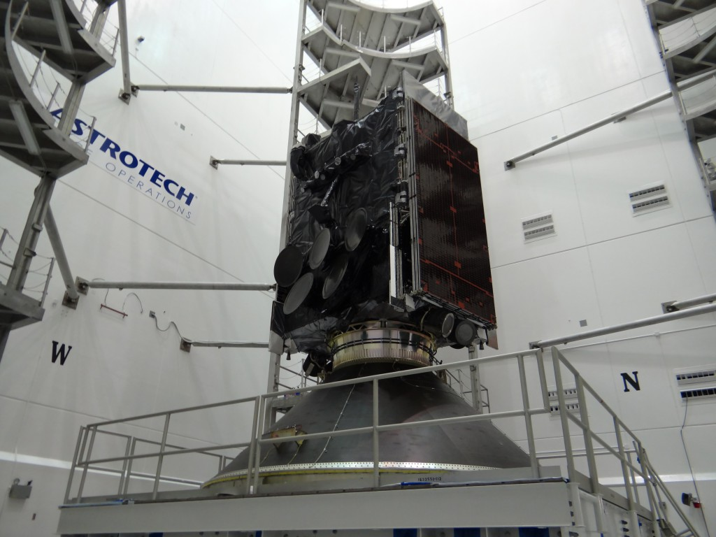 File image of WGS satellite. Credit: ULA