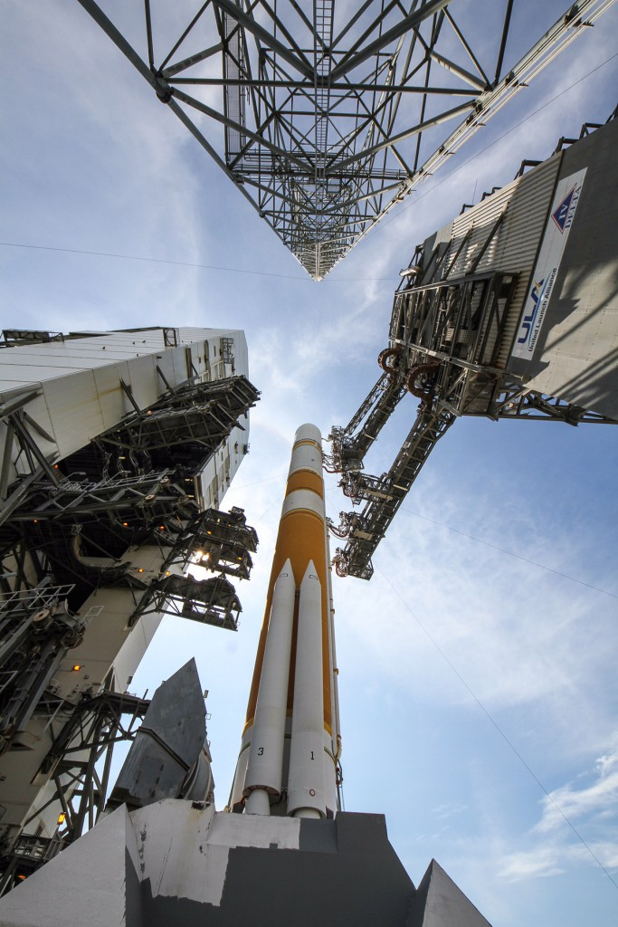 File image of Delta 4 on the pad. Credit: ULA