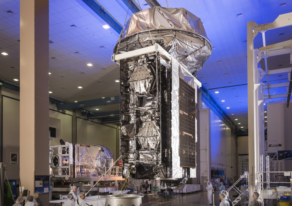 MUOS 4. Credit: Lockheed Martin