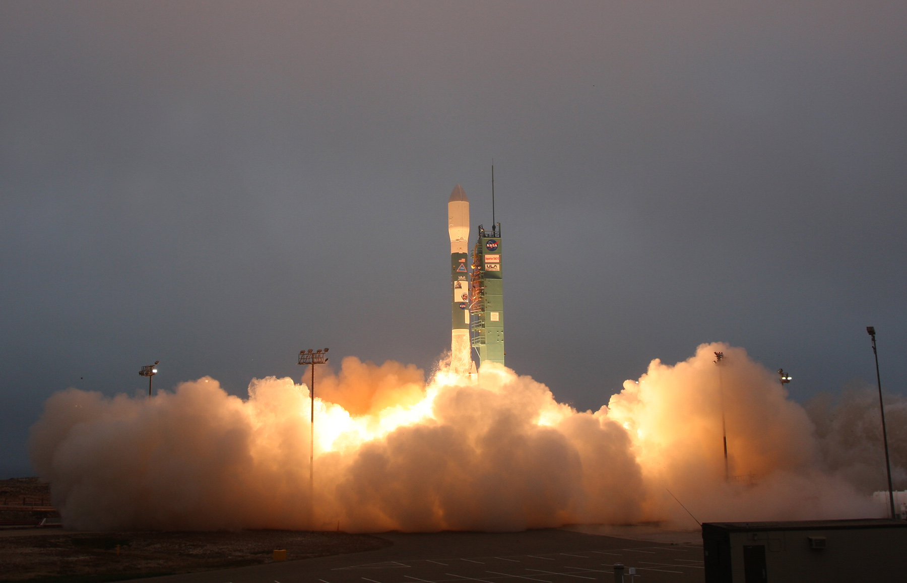 The SAC-D/Aquarius satellite launched June 10, 2011, atop a United Launch Delta 2 rocket from Vandenberg Air Force Base, California. Credit: ULA