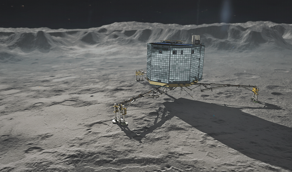 stable on philae comet lander - photo #20