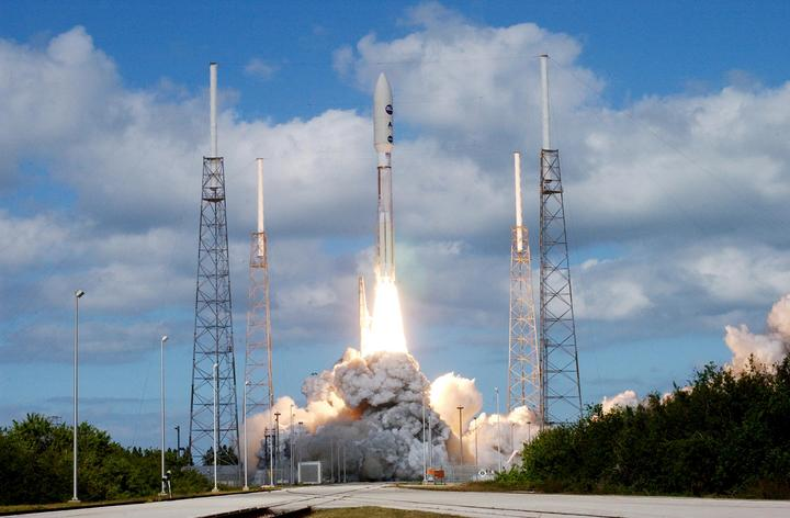 New Horizons launched from Cape Canaveral on Jan. 19, 2006, aboard an Atlas 5 rocket. Credit: NASA