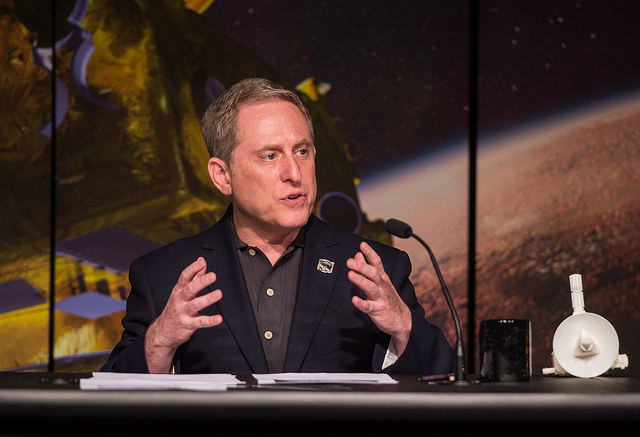 Alan Stern, New Horizons' principal investigator, started thinking about a mission to Pluto in the 1980s. Credit: NASA/Aubrey Gemignani