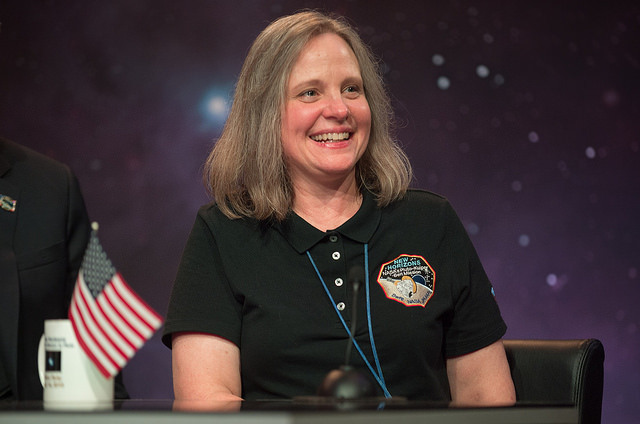 Alice Bowman, mission operations manager for the New Horizons mission. Credit: NASA/Bill Ingalls