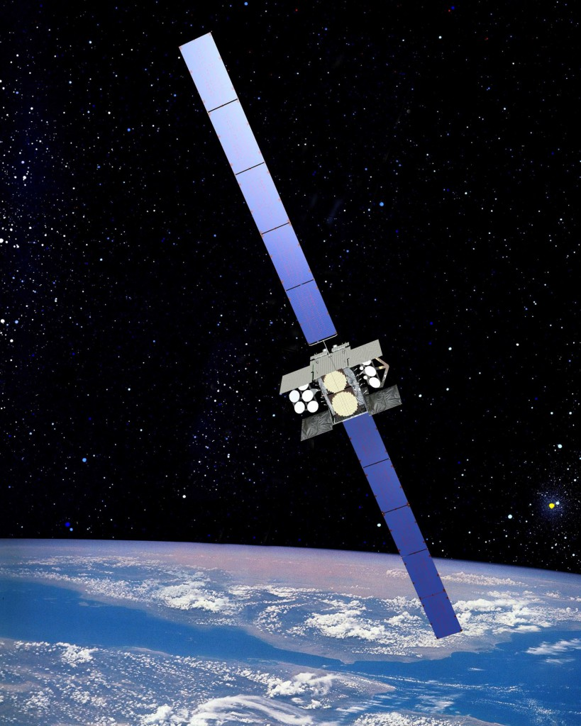 WGS artist's concept. Credit: Boeing