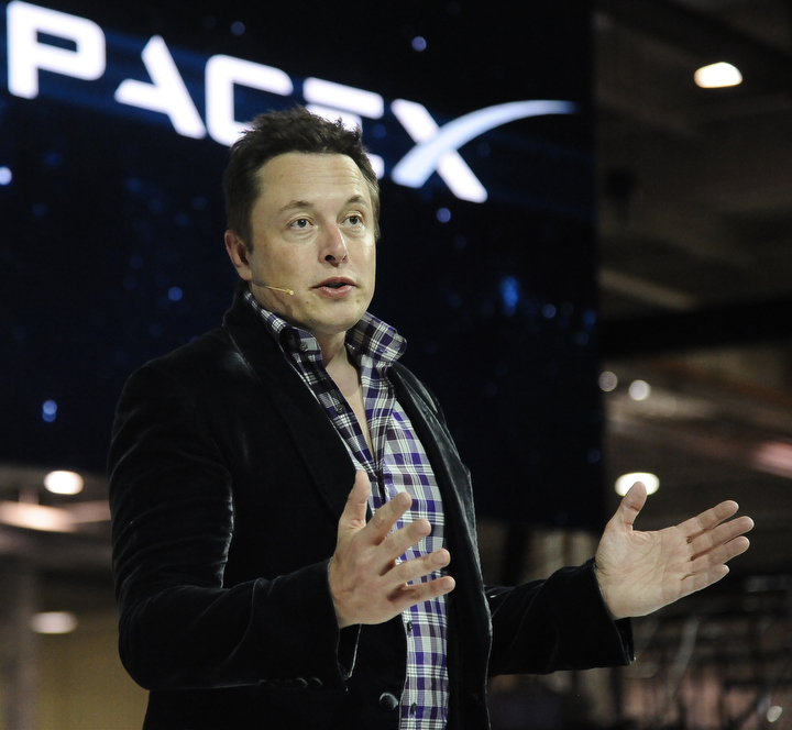 File photo of SpaceX founder and chief executive Elon Musk. Credit: Gene Blevins/LA Daily News