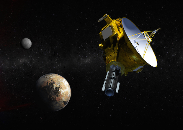 Artist's concept of the New Horizons spacecraft. Credit: NASA/Johns Hopkins University Applied Physics Laboratory/Southwest Research Institute