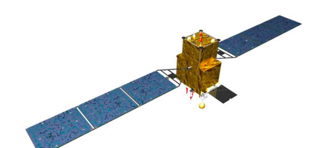Artist's concept of a Beidou navigation satellite. Credit: China Satellite Navigation Office