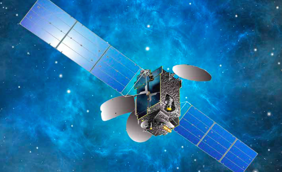Artist's concept of the Intelsat 34 satellite in orbit. Credit: Intelsat/Space Systems/Loral