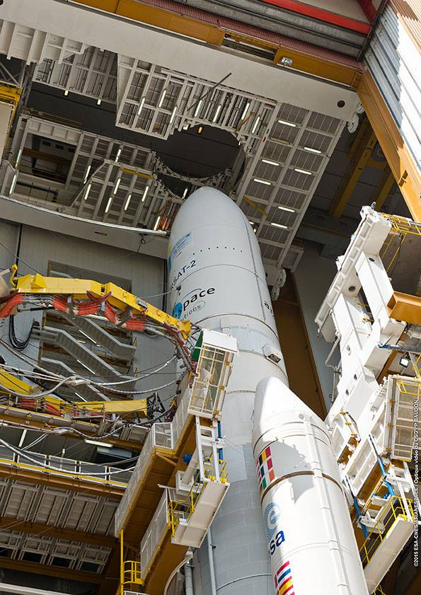 Photo credit: ESA/CNES/Arianespace – Photo Optique Video du CSG – P. Baudon