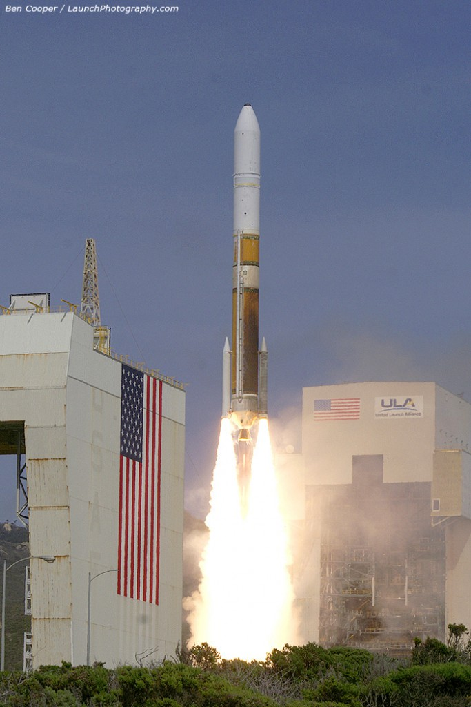 Vandenberg launched the first Delta 4 Medium+ (5,2) on April 3, 2012. Credit: Ben Cooper (more launch pics)