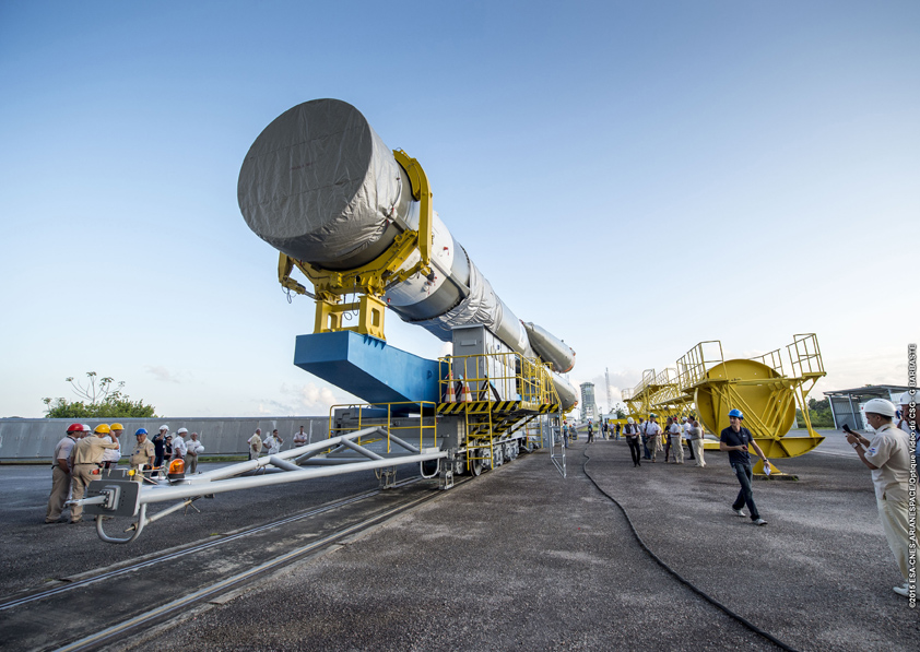 Photo credit: ESA/CNES/Arianespace – Photo Optique Video du CSG – G. Barbaste