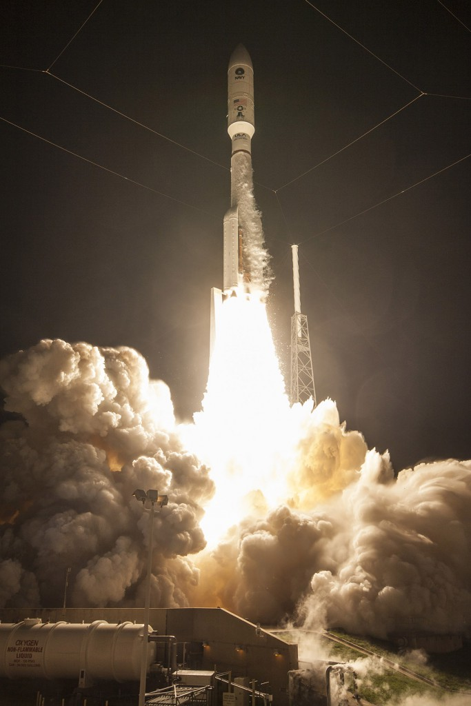 Launch occurred at 6:18 a.m. Photo: ULA