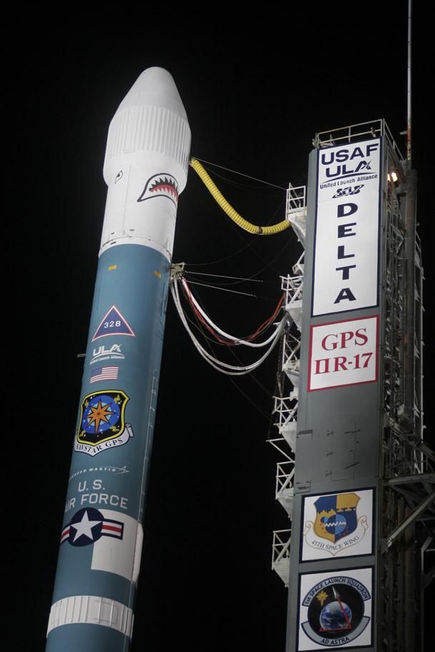 Delta 2/GPS. Credit: ULA