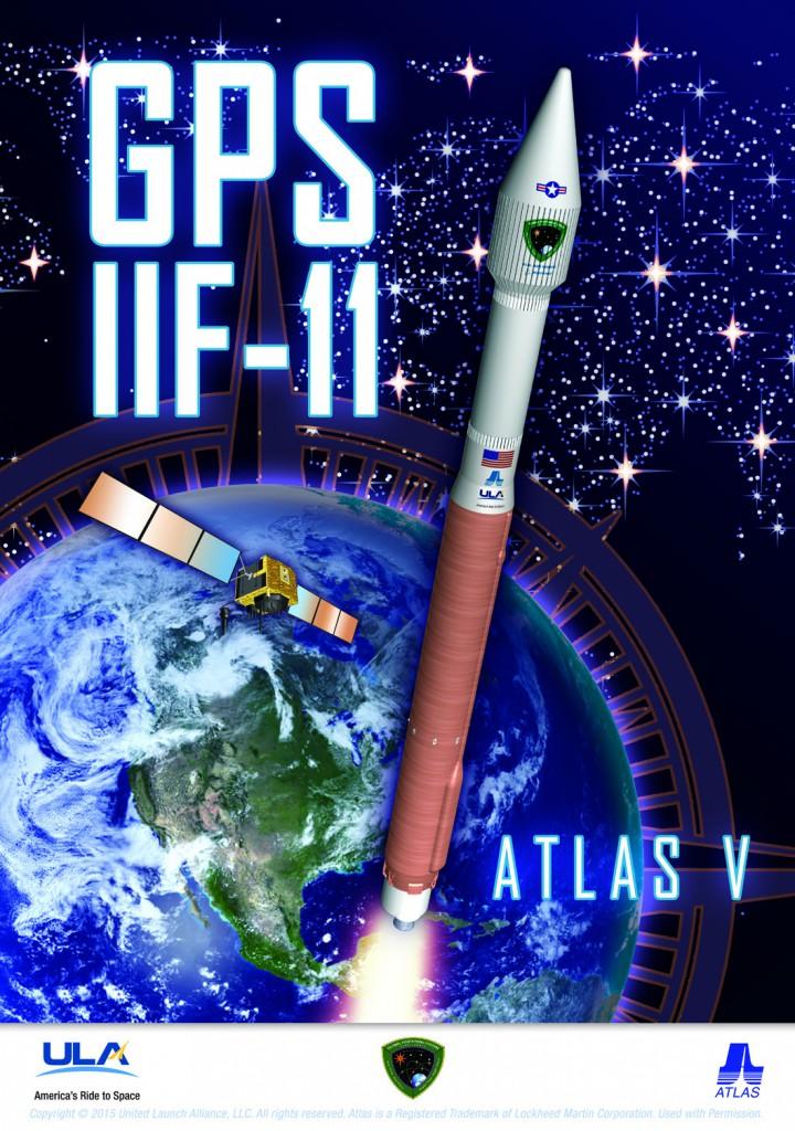 ULA mission poster. Credit: ULA