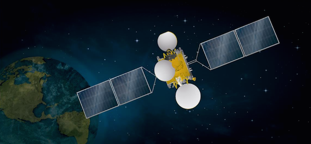 Artist's concept of the Arsat 2 satellite. Credit: Arsat