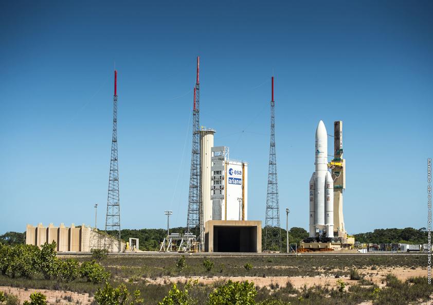 Photo credit: ESA/CNES/Arianespace – Optique Video du CSG – G. Barbaste