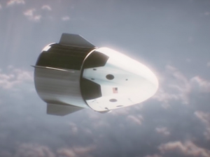 Artist's concept of SpaceX's Crew Dragon spacecraft. Credit: SpaceX