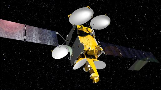 Artist's concept of the Telstar 12 Vantage satellite. Credit: Airbus Defense and Space