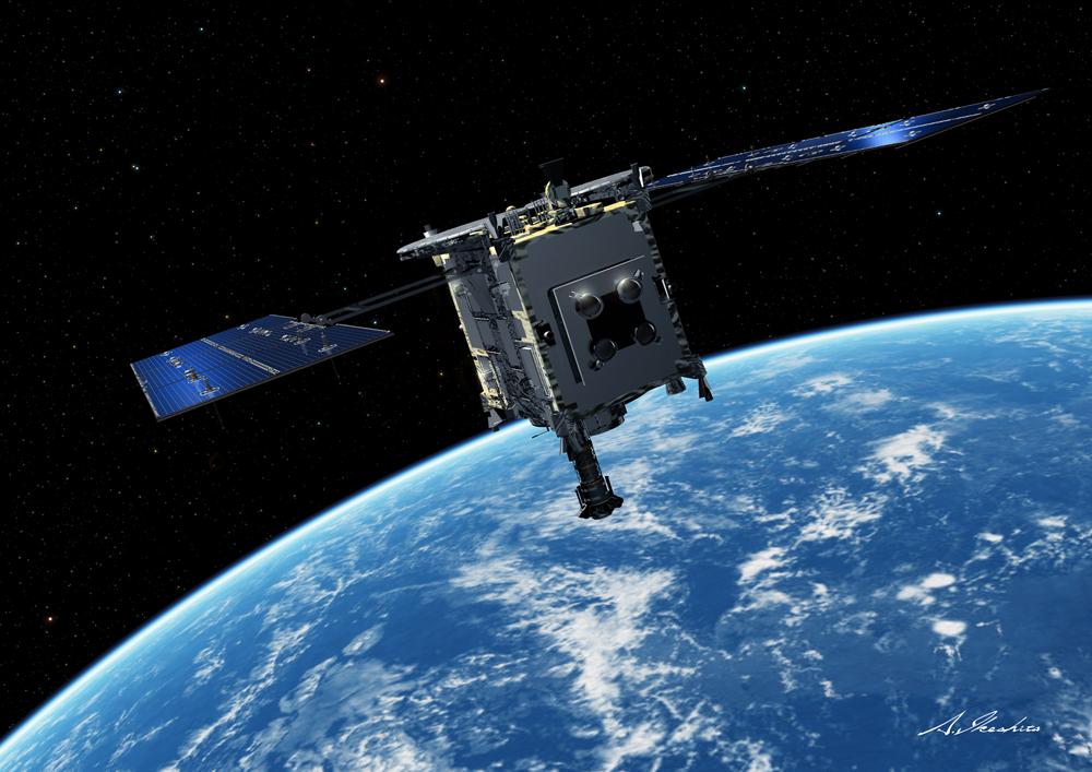Artist's concept of the Hayabusa 2 spacecraft near Earth. Credit: JAXA
