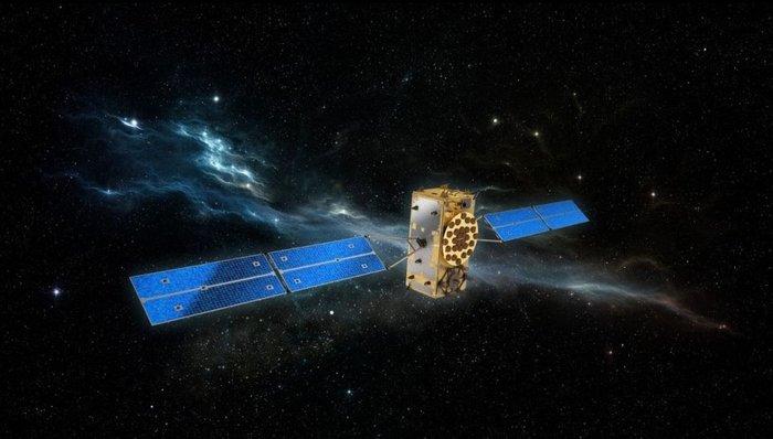 Artist's concept of a Galileo navigation satellite in orbit. Credit: OHB