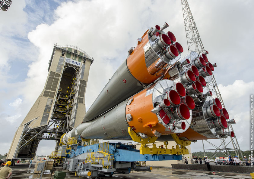 Photo credit: ESA/CNES/Arianespace – Photo Optique Video du CSG – JM Guillon