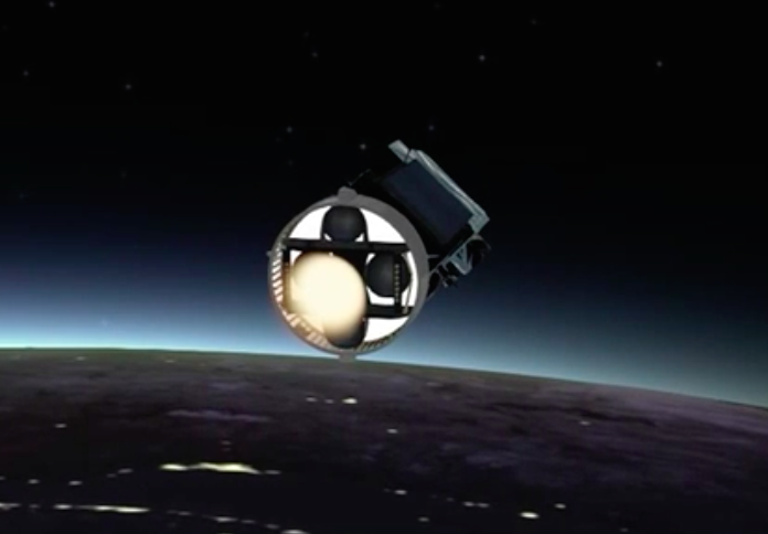 The AVUM fires a second time to put LISA Pathfinder into its preliminary orbit.