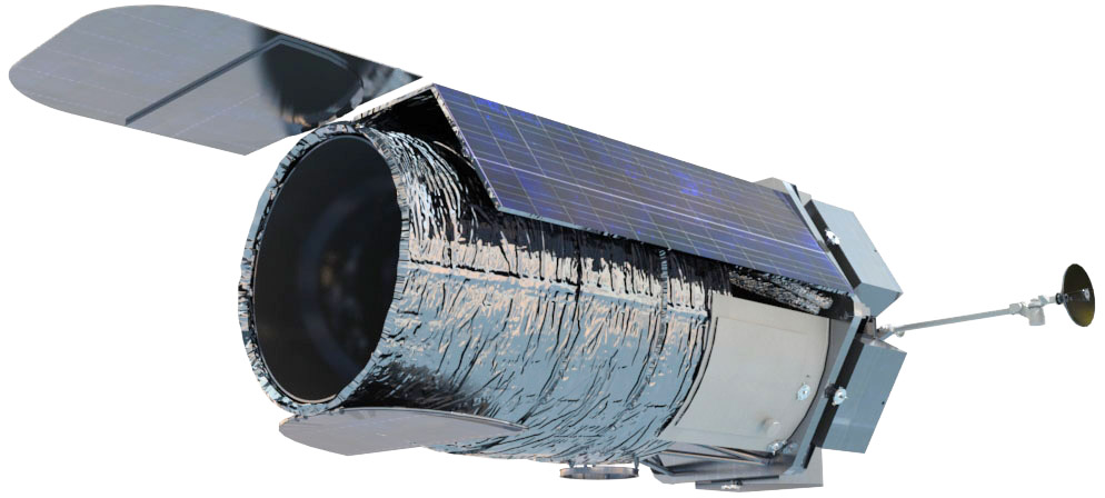 Artist's concept of WFIRST. Credit: NASA/Goddard Space Flight Center